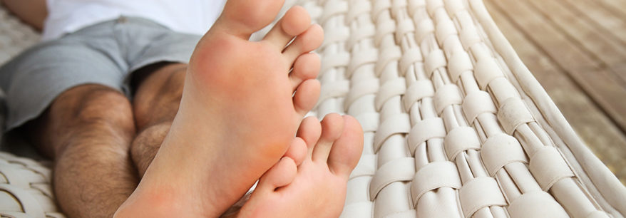 Eliminate sweaty feet and foot odour problems