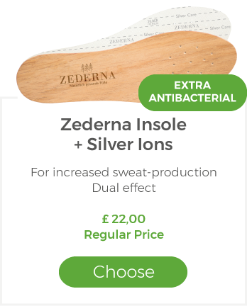 Zederna with Silver ions